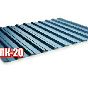 Профнастил ПК 20 дешево от завода цена низкая производство Украина
