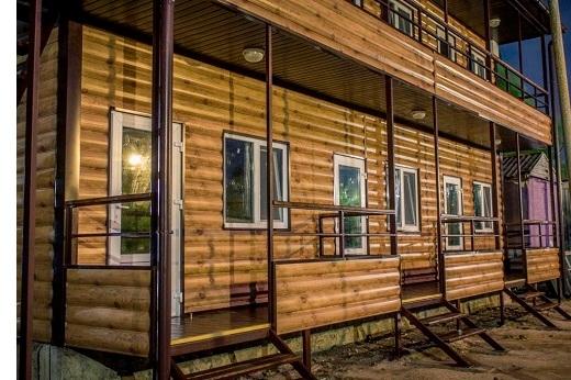 Дом из блок-хауса металлического ольха дуб темное дерево какая стоимость в киеве как сделать в Киеве БУДМАТ Украина