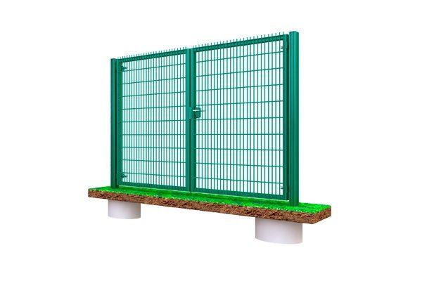 Секции сетки 3D забор в Киеве ворота низкая цена дешево Украина