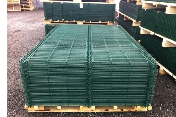 Сварная Сетка забор в Киеве купить секционный цена низкая качественные материалы производство Украина