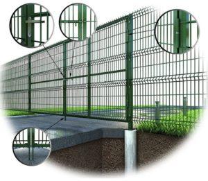 Купить Ворота из сетки в киеве и Украине с доставкой по низкая цена дешево завод Украина