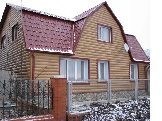 Фасад из блок хауса в киеве по низкой цене купить с доставкой от БУДМАТ Украина