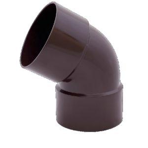 Фото Купить Колено 60° двухраструбное PROFiL Профил Водосточная система в киеве по низкой цене доставка ТД Будмат Украина