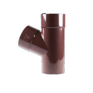 Фото Купить редукционный тройник трубы водосточной PROFiL Профил Водосточная система в киеве по низкой цене доставка ТД Будмат Украина
