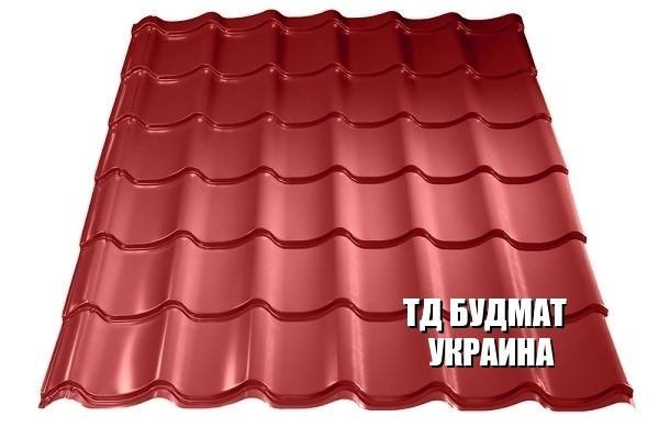 Фото Металлочерепица Боденьки купить дешево цена с доставкой ТД Будмат Украина