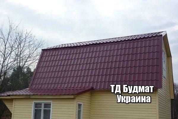 Фото Металлочерепица Крапивня купить, цена и доставка ТД Будмат