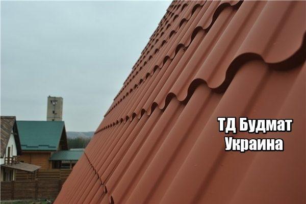 Фото Металлочерепица Лехновка купить, цена и доставка ТД Будмат