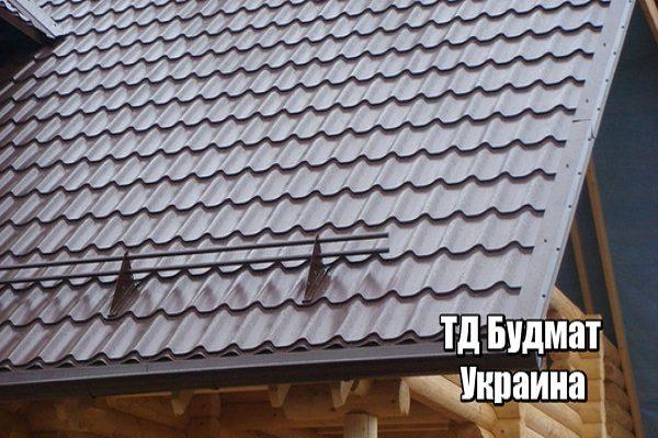 Фото Металлочерепица Леоновка купить, цена и доставка ТД Будмат