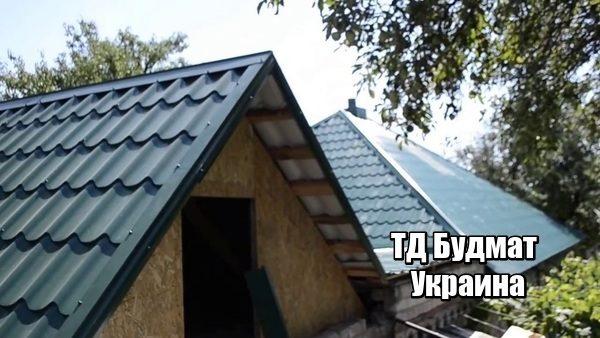 Фото Металлочерепица Марьяновка купить, цена и доставка ТД Будмат