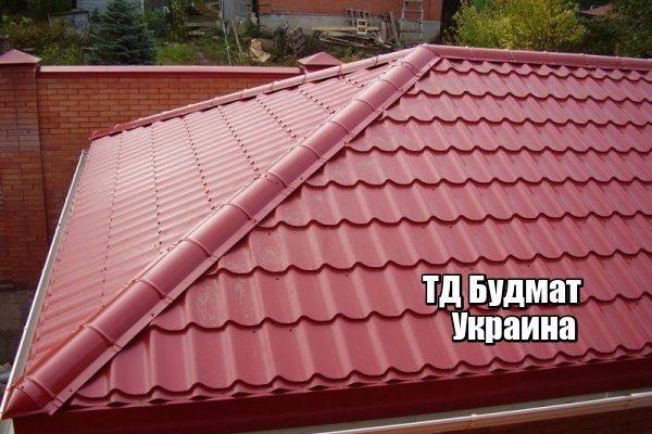 Фото Металлочерепица Новомировка купить, цена и доставка ТД Будмат