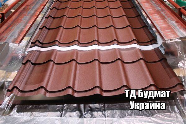 Фото Металлочерепица Плоское купить, цена и доставка ТД Будмат