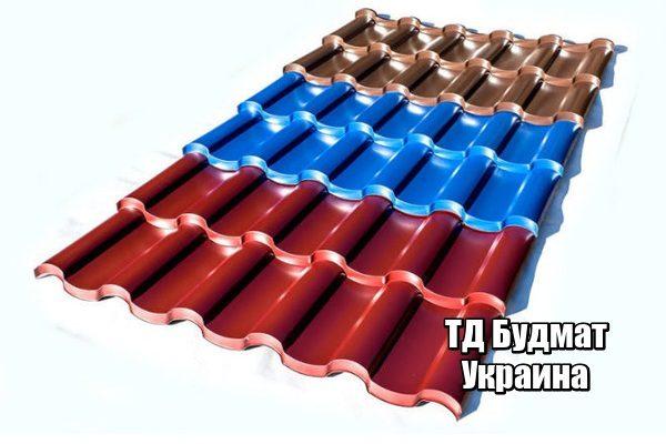Фото Металлочерепица Рожев купить, цена и доставка ТД Будмат
