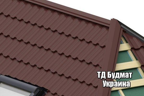 Фото Металлочерепица Шнуров Лес купить, цена и доставка ТД Будмат