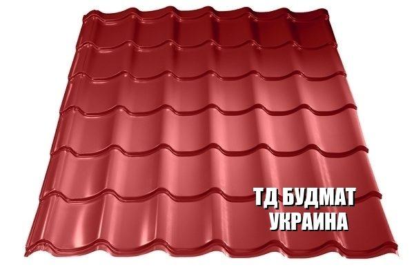 Фото Металлочерепица Софиевская Борщаговка купить дешево цена с доставкой ТД Будмат Украина