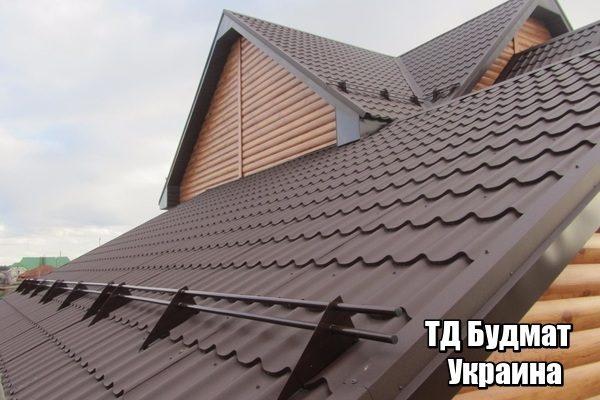 Фото Металлочерепица Устимовка купить, цена и доставка ТД Будмат