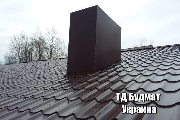 Фото Металлочерепица Вороньков купить, цена и доставка ТД Будмат
