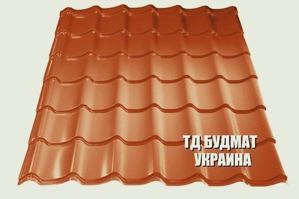 Фото Металлочерепица Вороньковка купить дешево цена с доставкой ТД Будмат Украина
