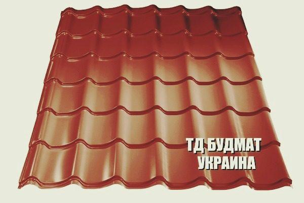 Фото Металлочерепица Жукин купить дешево цена с доставкой ТД Будмат Украина