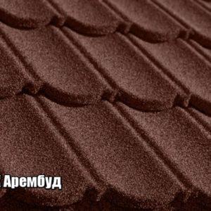 Фото Композитная черепица Квинтайл Classic Brown коричневый купить в Киеве