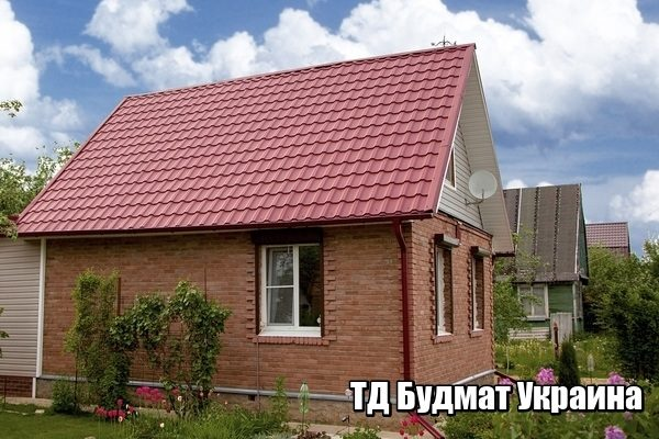 Купить в Украине металлочерепица