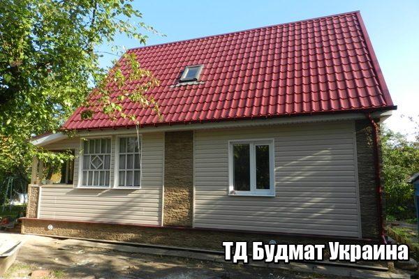 Металлочерепица кровля Будмат Украина