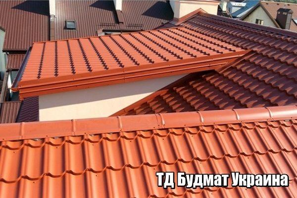 Металлочерепица от производителя купить в Украине